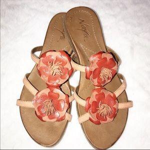 Anthropologie Naya Sandals 8.5 Leather